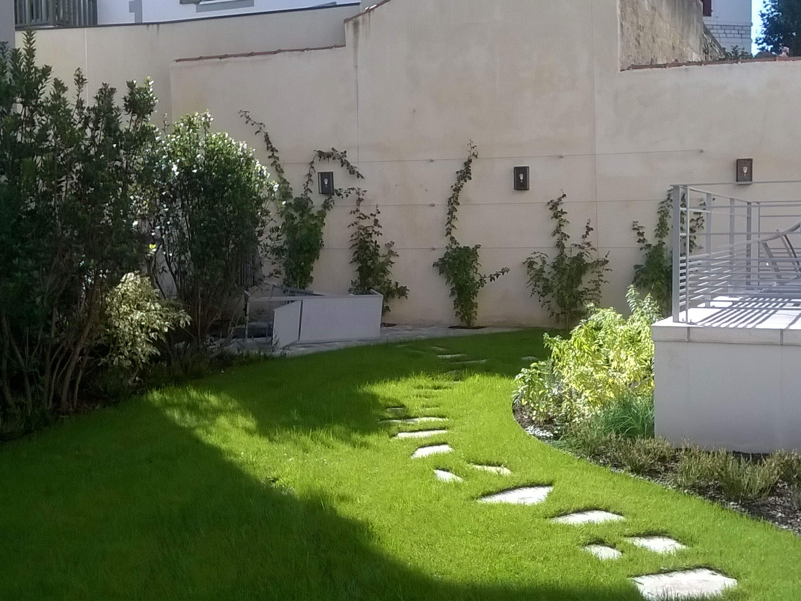 Jardin au cœur de Biarritz