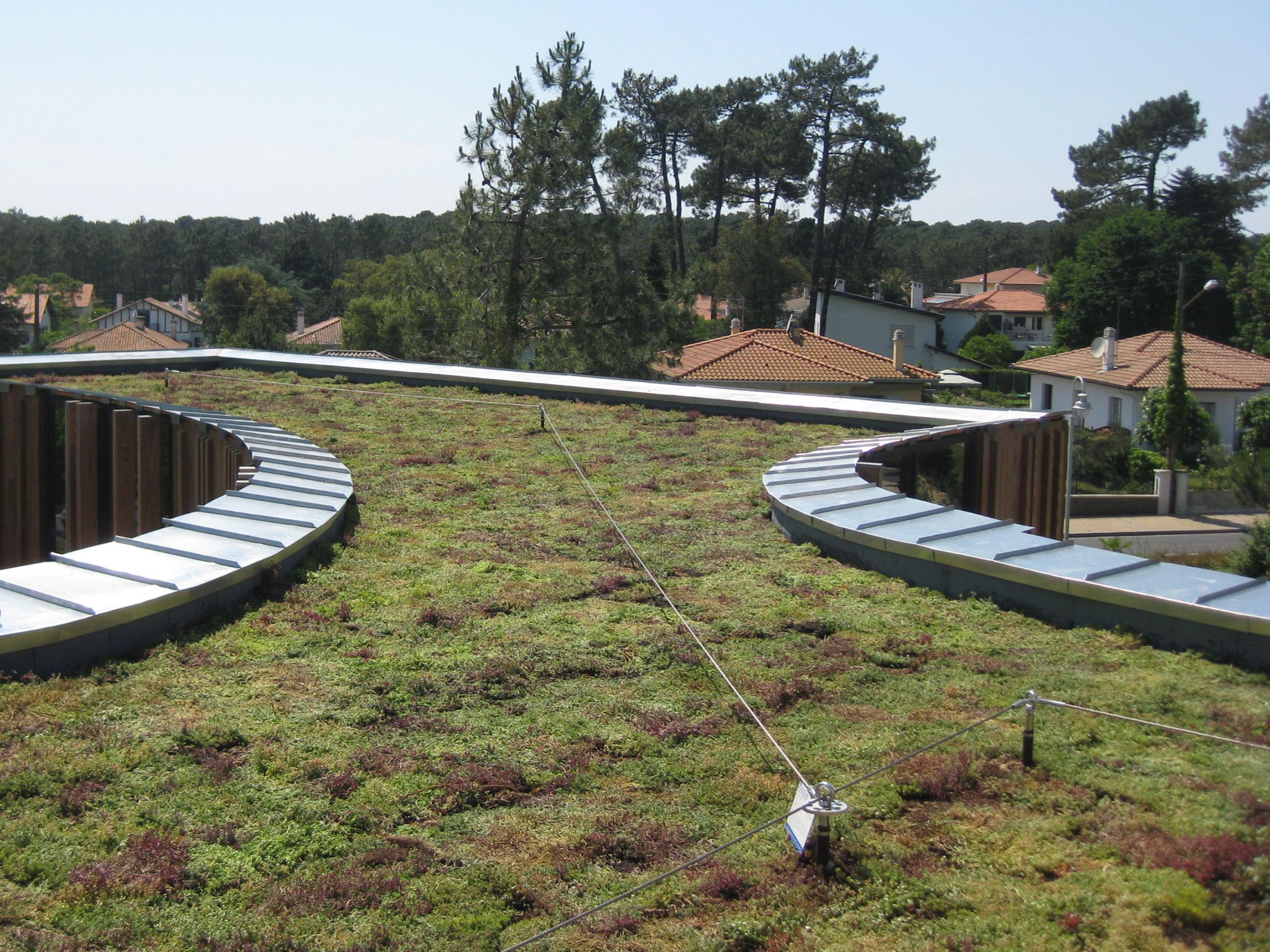 Floriparc, toiture végétalisée Olatu Leku