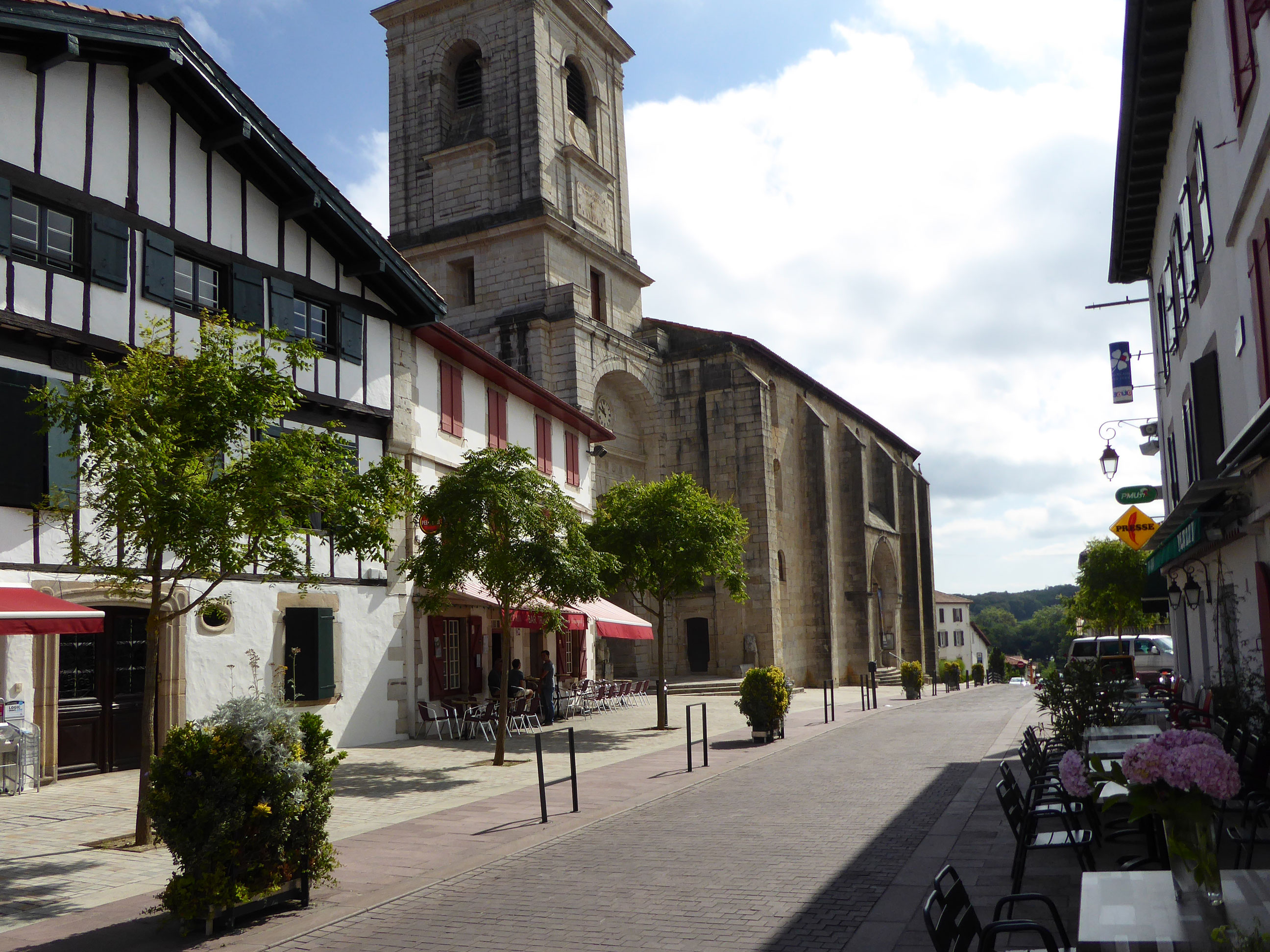 Floriparc, Urrugne centre bourg